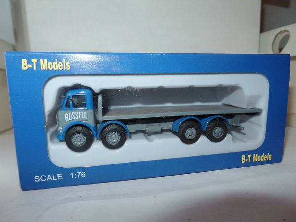 B T Models DA-38 DA38 1/76 00 AEC Mammouth Major Flatbed Russels Bathgate